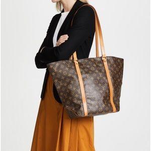 Louis Vuitton Monogram Sac Shopping Tote Bag